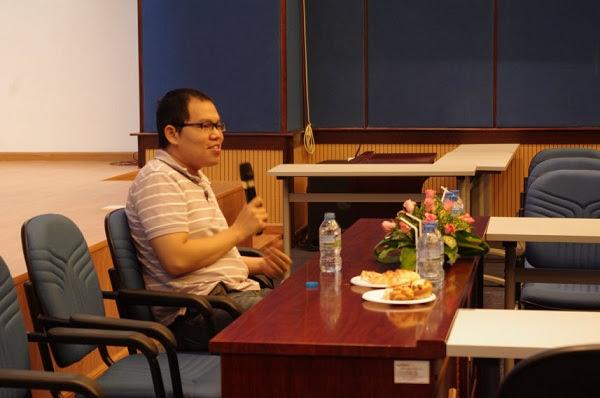 Anh Vương Vũ Thắng -Tổng Giám Đốc VCCorp chia sẻ cùng các CBNV VC